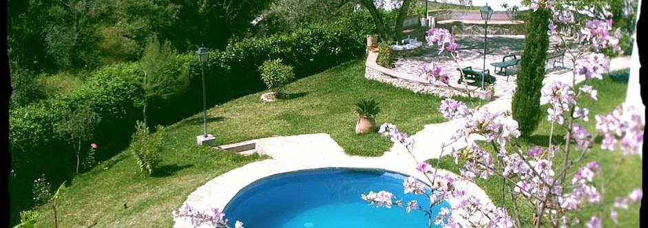 …y la piscina