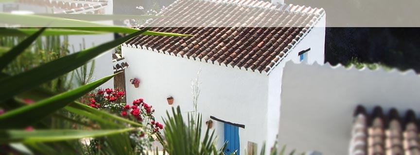 alquiler casas rurales málaga, alquilar casa rural frigiliana, el acebuchal