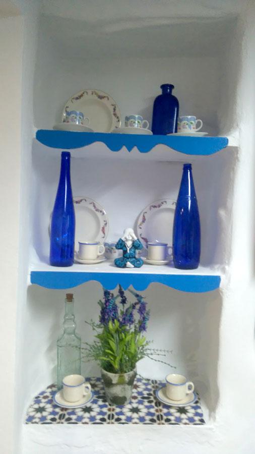casita azul - frigiliana