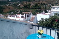 Terraza Casita Azul – Frigiliana
